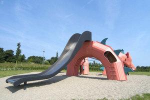 Детская площадка в виде дракона