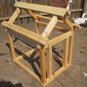 Строительство будки