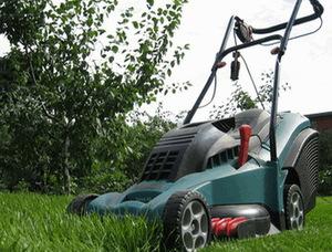 Самодельная газонокосилка электрическая