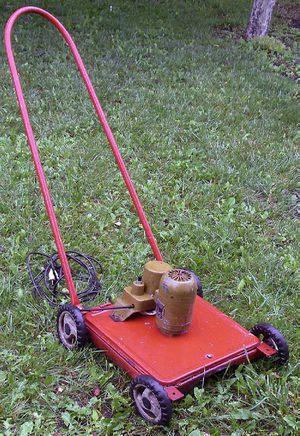 Как самом сделать газонокосилку