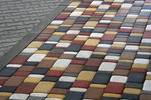 тротуарная плитка старого образца - фото 11